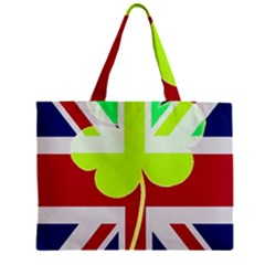 Irish British Shamrock United Kingdom Ireland Funny St  Patrick Flag Mini Tote Bag