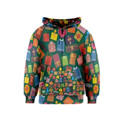 Presents Gifts Background Colorful Kids  Zipper Hoodie by Amaryn4rt