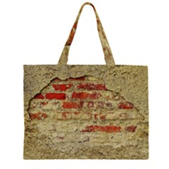 Wall Plaster Background Facade Large Tote Bag by Amaryn4rt