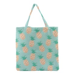 Cute Pineapple  Grocery Tote Bag by Brittlevirginclothing