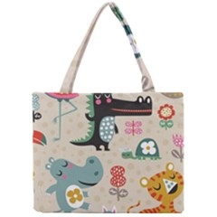 Lovely Cartoon Animals Mini Tote Bag