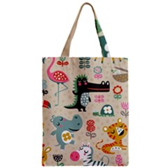 Lovely Cartoon Animals Classic Tote Bag