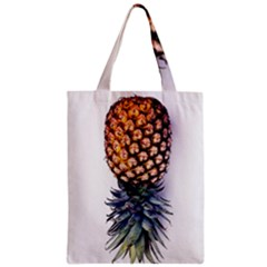 La Pina Pineapple Zipper Classic Tote Bag by Brittlevirginclothing