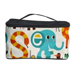 Lovely Small Cartoon Animals Cosmetic Storage Case by Brittlevirginclothing