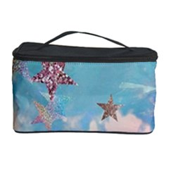 Pastel Colored Stars  Cosmetic Storage Case by Brittlevirginclothing