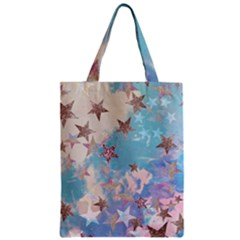 Pastel Colored Stars  Zipper Classic Tote Bag by Brittlevirginclothing