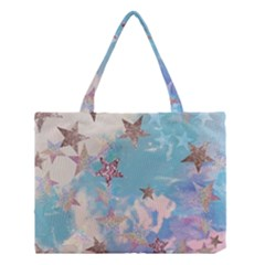 Pastel Colored Stars  Medium Tote Bag by Brittlevirginclothing