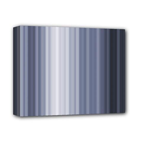 Gray Line Deluxe Canvas 14  X 11  by Jojostore