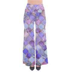 Blue Moroccan Mosaic Pants by Brittlevirginclothing