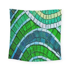 Green Square Tapestry (small)