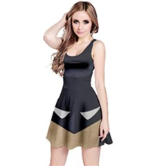 Batman  Reversible Sleeveless Dress by Brittlevirginclothing