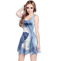 Paint In Water Reversible Sleeveless Dress