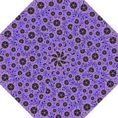 Flower Floral Purple Straight Umbrellas by Jojostore