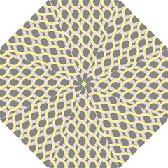 Hearts And Yellow Washi Zigzags Tileable Straight Umbrellas by Jojostore