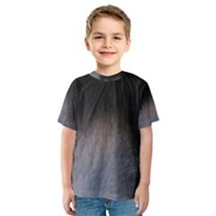 black to gray fade Kids  Sport Mesh Tee