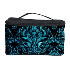 DMS1 BK-TQ MARBLE Cosmetic Storage Case by trendistuff