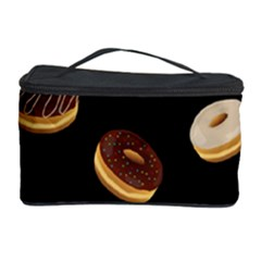 Donuts Cosmetic Storage Case by Valentinaart