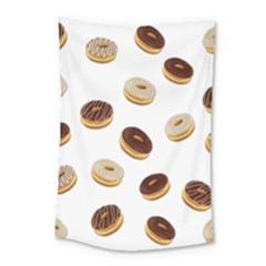 Donuts Pattern Small Tapestry by Valentinaart