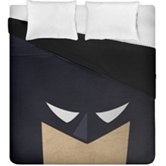 Batman Duvet Cover Double Side (king Size) by Brittlevirginclothing