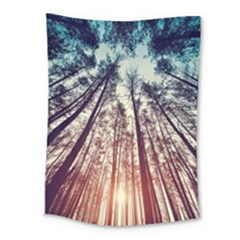 Up View Forest Medium Tapestry by Brittlevirginclothing