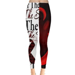 Sickle Cell Is Me Leggings  by shawnstestimony