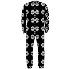 Dark Floral Onepiece Jumpsuit (men)  by dflcprintsclothing