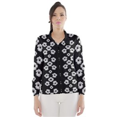 Dark Floral Wind Breaker (women) by dflcprintsclothing
