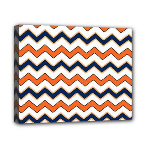 Chevron Party Pattern Stripes Canvas 10  X 8