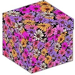 Floral Pattern Storage Stool 12   by Amaryn4rt