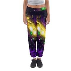 Galaxy Deep Space Space Universe Stars Nebula Women s Jogger Sweatpants by Amaryn4rt