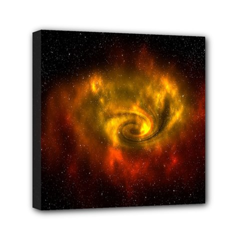 Galaxy Nebula Space Cosmos Universe Fantasy Mini Canvas 6  X 6  by Amaryn4rt