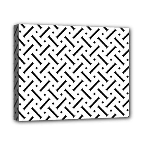 Geometric Pattern Canvas 10  X 8  by Amaryn4rt