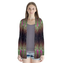 Julian Star Star Fun Green Violet Cardigans by Amaryn4rt