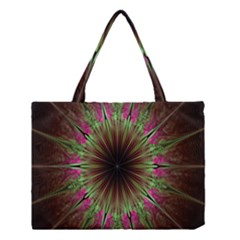 Julian Star Star Fun Green Violet Medium Tote Bag by Amaryn4rt