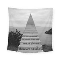 Steps To Success Follow Square Tapestry (small) by FrontlineS