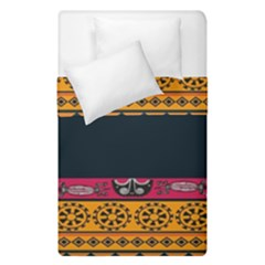 Pattern Ornaments Africa Safari Summer Graphic Duvet Cover Double Side (single Size) by Amaryn4rt