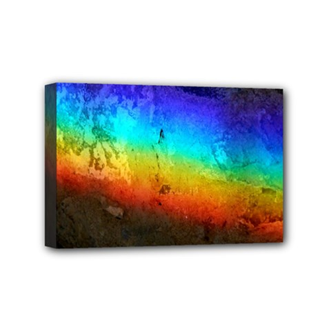 Rainbow Color Prism Colors Mini Canvas 6  X 4  by Amaryn4rt