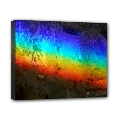 Rainbow Color Prism Colors Canvas 10  X 8  by Amaryn4rt