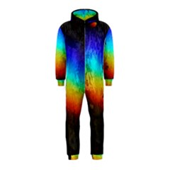 Rainbow Color Prism Colors Hooded Jumpsuit (Kids) by Amaryn4rt