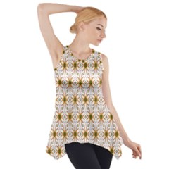 Seamless Wallpaper Background Side Drop Tank Tunic