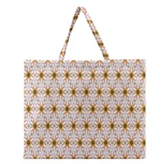 Seamless Wallpaper Background Zipper Large Tote Bag by Amaryn4rt