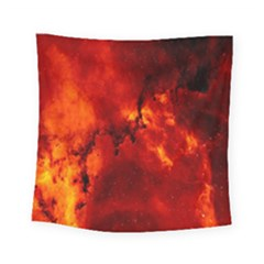 Star Clusters Rosette Nebula Star Square Tapestry (small)