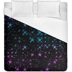 Stars Pattern Seamless Design Duvet Cover (king Size) by Amaryn4rt