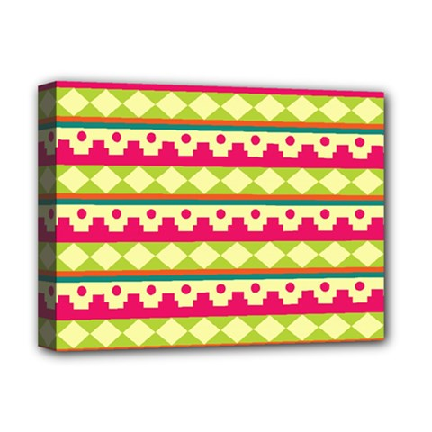 Tribal Pattern Background Deluxe Canvas 16  X 12   by Amaryn4rt