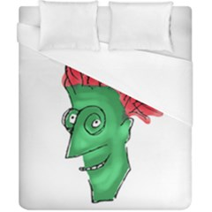 Crazy Man Drawing  Duvet Cover (california King Size)