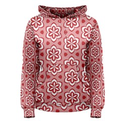 Floral Abstract Pattern Women s Pullover Hoodie by Amaryn4rt