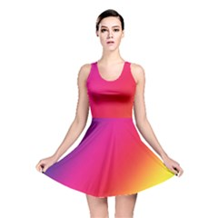 Rainbow Colors Reversible Skater Dress by Amaryn4rt