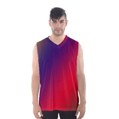 Rainbow Two Background Men s Basketball Tank Top by Amaryn4rt