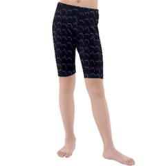 Smooth Color Pattern Kids  Mid Length Swim Shorts by Amaryn4rt