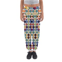 Retro Pattern Abstract Women s Jogger Sweatpants by Amaryn4rt